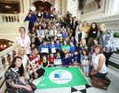 Celebration time for Belfast City Eco-Schools. -- news item graphic