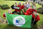 Eco-Schools NI reach landmark 1000th Green Flag in record breaking year. -- news item graphic