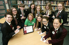 Ulidia Integrated College Scoop Top International Reporting Award. -- news item graphic